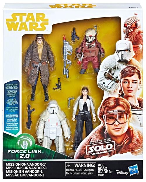 Star Wars Solo Force Link 2.0 Mission on Vandor-1 Action Figure 4-Pack