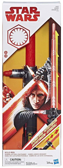 Star Wars The Last Jedi Force Action Lightsabers Kylo Ren Electronic Lightsaber [Spring-Action]