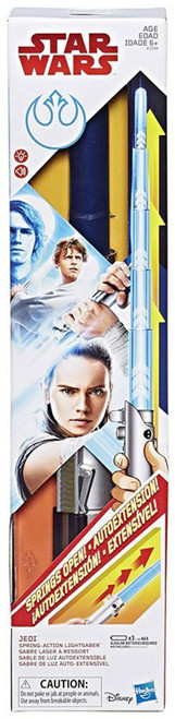 Star Wars The Last Jedi Force Action Lightsabers Rey Electronic Lightsaber [Spring-Action]