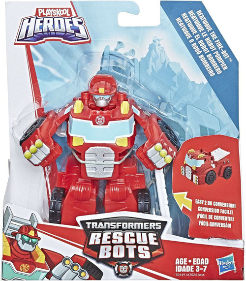 Transformers Playskool Heroes Rescue Bots Heatwave the Fire Bot Action Figure