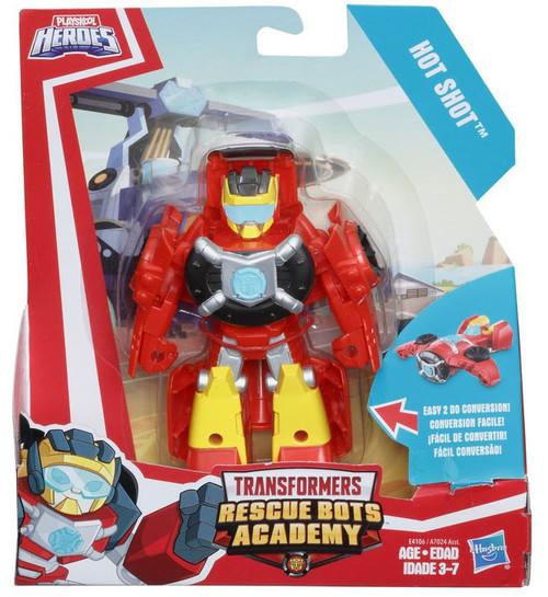Transformers Playskool Heroes Rescue Bots Hot Shot Vtol Action Figure [Rescan]