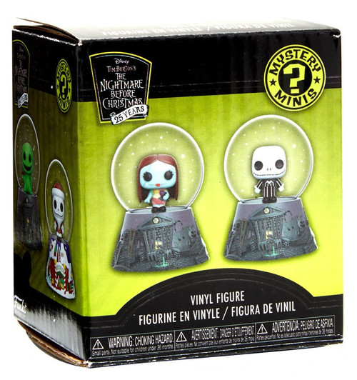 Funko Nightmare Before Christmas Mystery Minis Snow Globe NBX Exclusive Mystery Pack