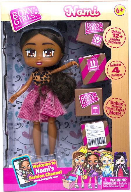 Boxy Girls Series 1 Nomi Doll