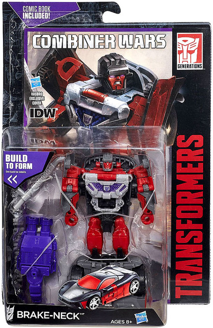 Transformers Generations Combiner Wars Brake-Neck Deluxe Action Figure [Stunticon]