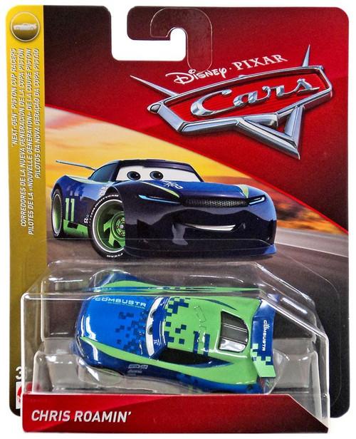 "Disney / Pixar Cars Cars 3 ""Next-Gen"" Piston Cup Racers Chris Roamin' Diecast Car"