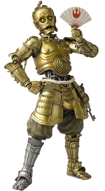 Star Wars Meisho Movie Realization Honyaku Karakuri C-3PO Action Figure