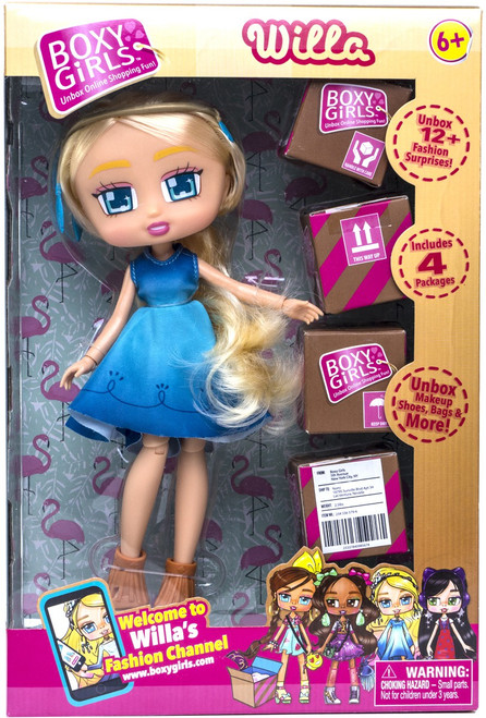 Boxy Girls Series 1 Willa Doll
