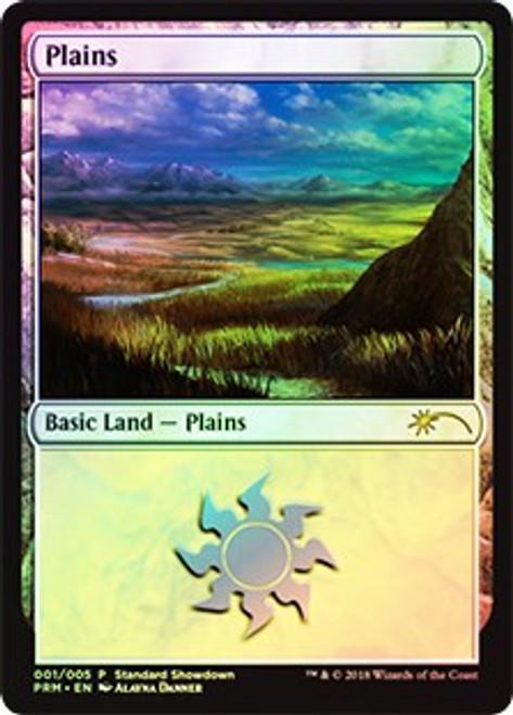 MtG Promo Cards Plains #001 [Standard Showdown - Alayna Danner]