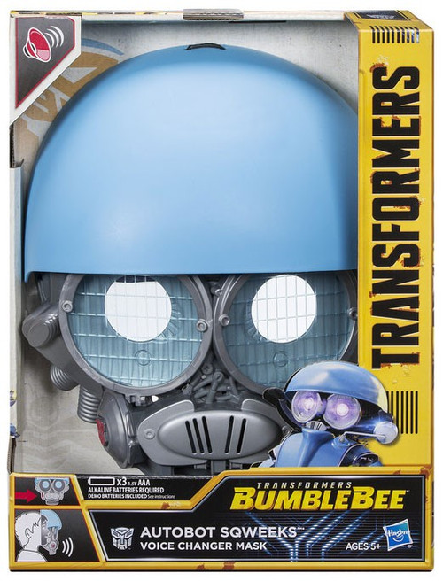 Transformers Bumblebee Sqweeks Voice Changer Mask