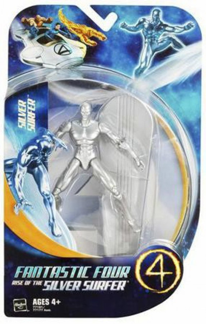 Marvel Fantastic Four Rise of the Silver Surfer Series 1 Silver Surfer Action Figure