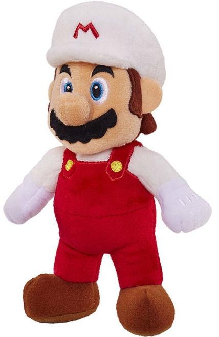 World of Nintendo Super Mario Fire Mario 7-Inch Plush