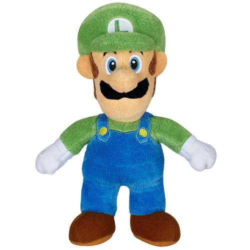 World of Nintendo Super Mario Luigi 7-Inch Plush