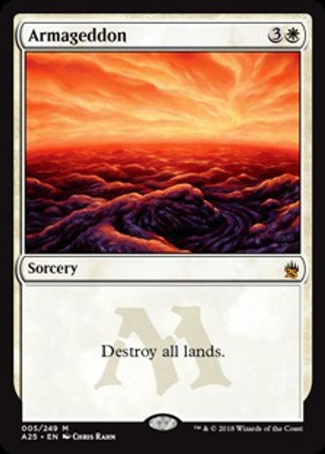 MtG Masters 25 Mythic Rare Foil Armageddon #5