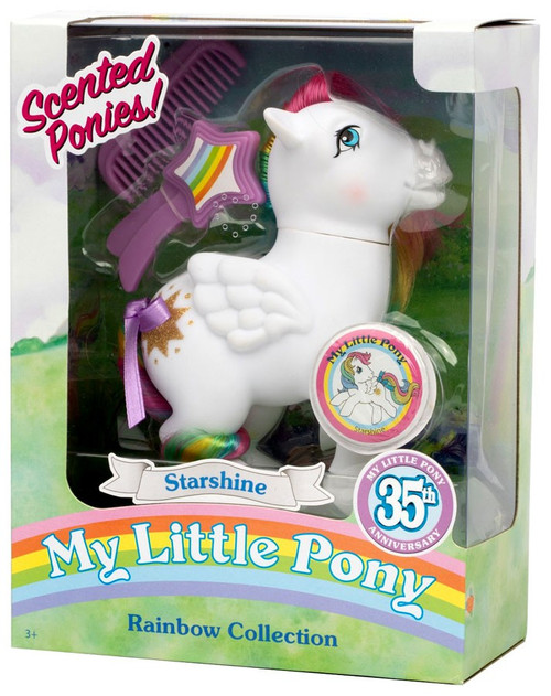 My Little Pony 35th Anniversary Rainbow Collection Scented Ponies! Starshine Figure