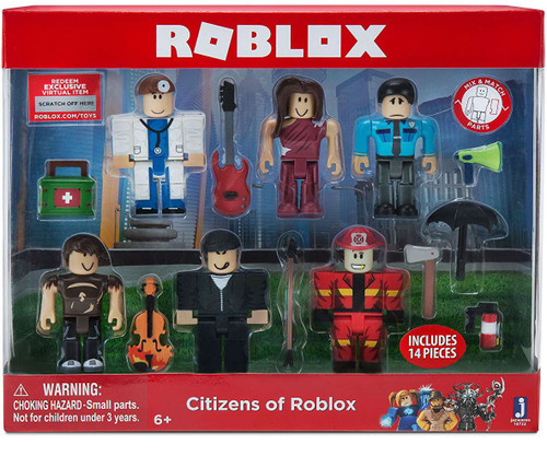 Citizens of Roblox Action Figure 6-Pack