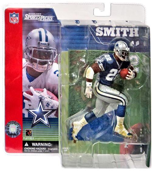 McFarlane Toys NFL Dallas Cowboys Sports Picks Series 1 Emmitt Smith Action Figure [Blue Jersey]