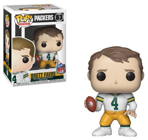Funko NFL Green Bay Packers POP! Sports Football Brett Favre Vinyl Figure #83