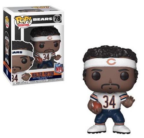 Funko NFL Chicago Bears POP! Sports Football Walter Payton Vinyl Figure #78 [White Jersey]