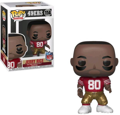 Funko NFL San Francisco 49ers POP! Sports Football Jerry Rice Vinyl Figure #114