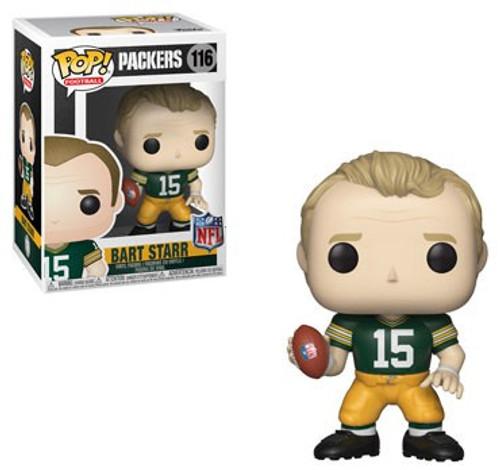 Funko NFL Green Bay Packers POP! Sports Football Bart Starr Vinyl Figure #116