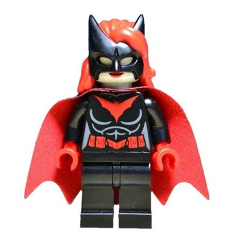 LEGO DC Universe Super Heroes Batwoman Minifigure [Without Batarang Loose]