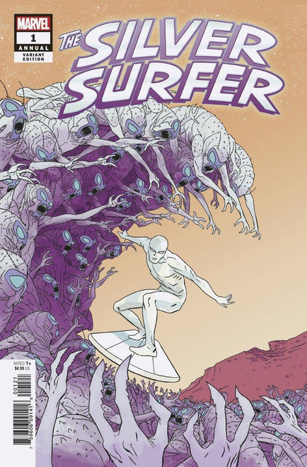 Marvel Comics The Silver Surfer #1 Annual Comic Book [Martin Variant Cover]