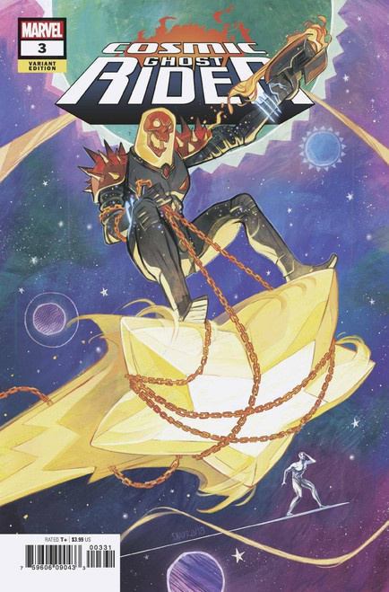 Marvel Comics Cosmic Ghost Rider #3 of 5 Comic Book [Shavrin Variant Cover]