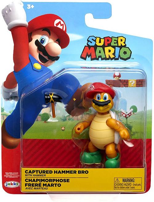 World of Nintendo Wave 15 Captured Hammer Bro Action Figure [with Hammer]