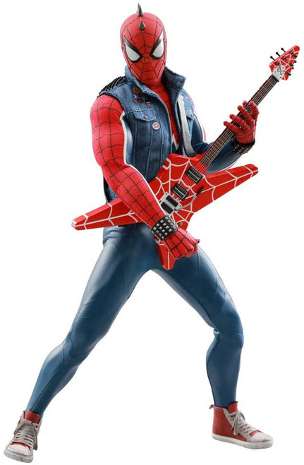 Marvel Spider-Man Video Game Masterpiece Spider-Punk Collectible Figure