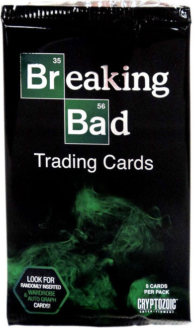 Breaking Bad Trading Card Pack [5 Cards]
