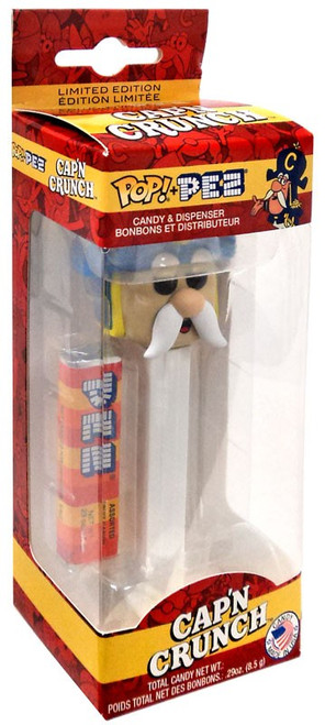Funko Quaker Oats POP! PEZ Cap'n Crunch Exclusive Candy Dispenser