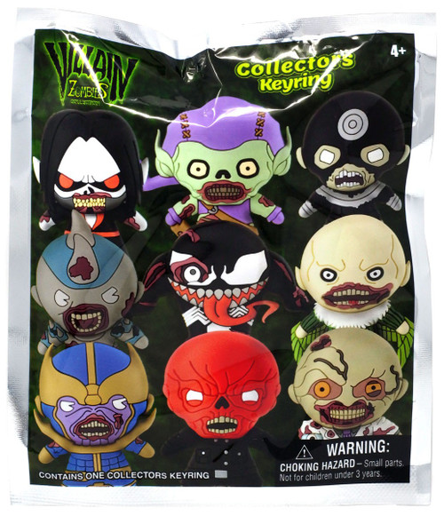 Marvel 3D Figural Keyring Villains Zombies Mystery Pack