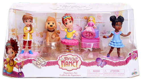 Disney Junior Fancy Nancy Figurine 5-Pack