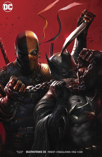 DC Deathstroke #35 Comic Book [Variant]