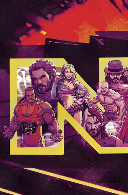 Boom Studios WWE NXT Takeover #1 Blueprint Comic Book [Dalfanso Variant Cover]