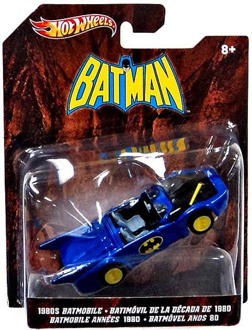 Batman Hot Wheels Batmobile Die-Cast Car [1980's]