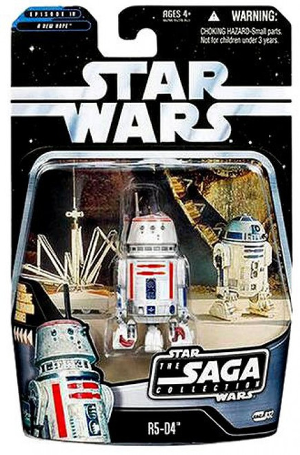 Star Wars A New Hope 2006 Saga Collection R5-D4 Action Figure #32