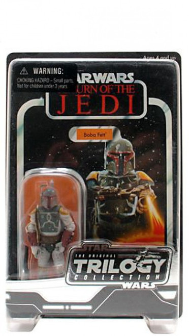 Star Wars Return of the Jedi Unknown Year Boba Fett Action Figure