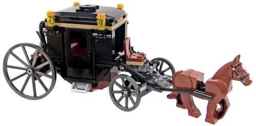 LEGO Stagecoach Carriage with Brown Horse Set [Loose]