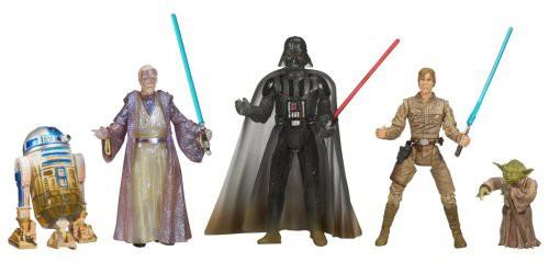 Star Wars The Empire Strikes Back 2007 Saga Legends (30th Anniversary) Jedi Training on Dagobah Battle Pack