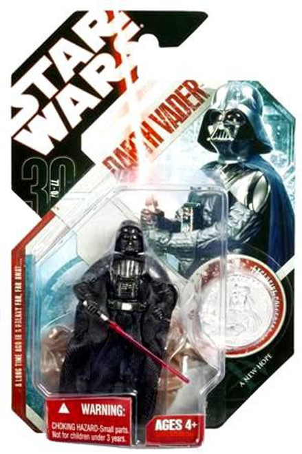 Star Wars A New Hope 30th Anniversary 2007 Wave 3 Darth Vader Action Figure #16 [Obi-Wan Duel]