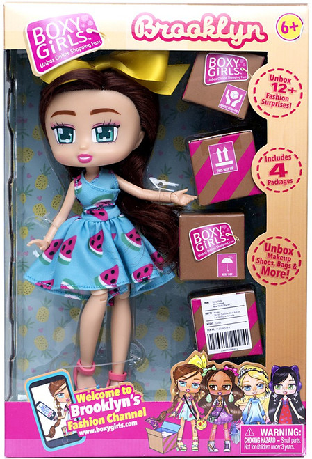 Boxy Girls Series 1 Brooklyn Doll