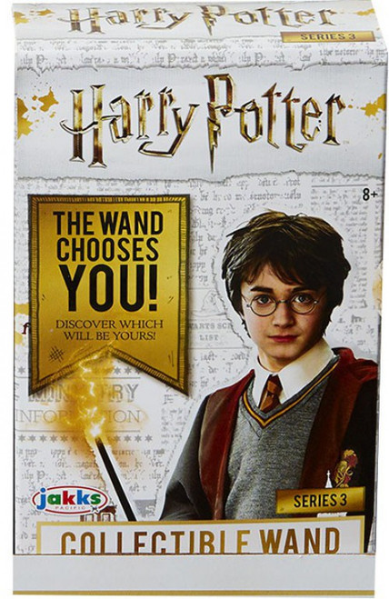 Harry Potter Diecast Series 3 Collectible Wand 4-Inch Mystery Pack