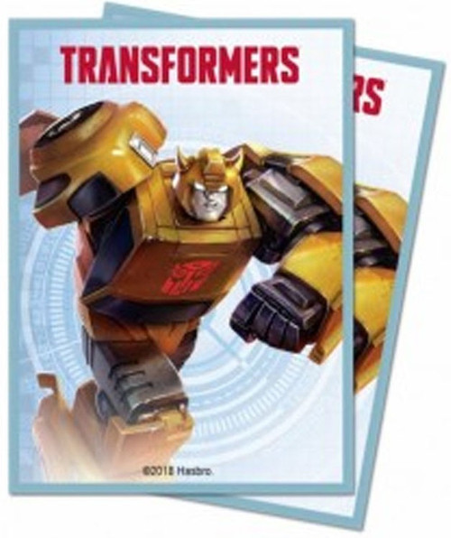 Ultra Pro Transformers Trading Card Game Bumblebee Standard Standard Card Sleeves [100 Count]