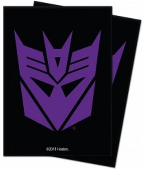Ultra Pro Transformers Trading Card Game Decepticons Standard Standard Card Sleeves [100 Count]