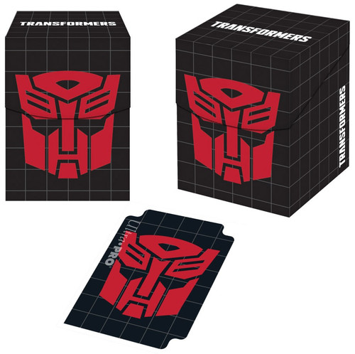 Ultra Pro Transformers Trading Card Game Autobots Deck Box