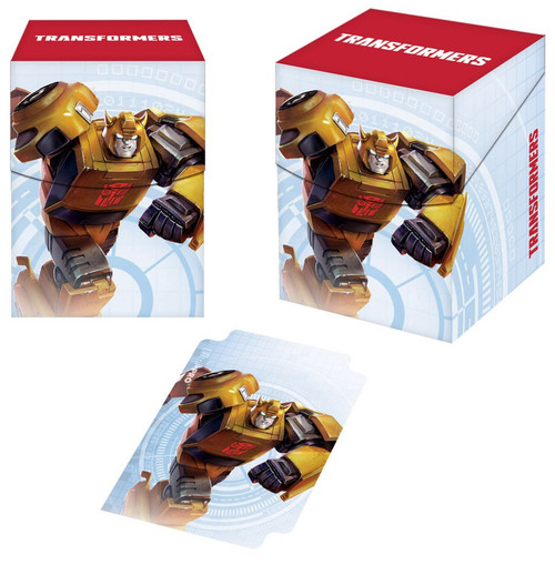 Ultra Pro Transformers Trading Card Game Bumblebee Deck Box