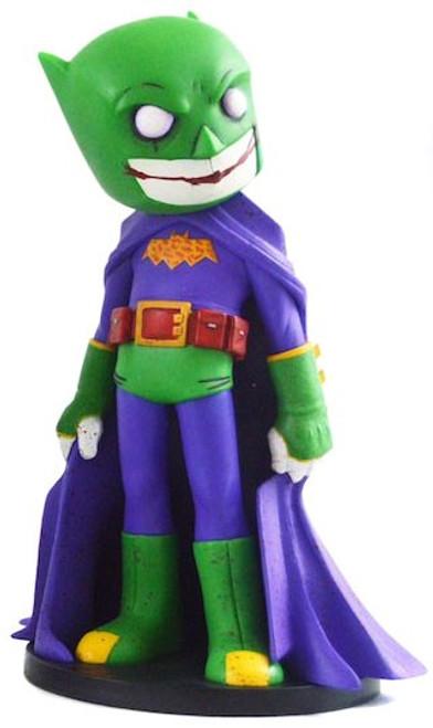 DC Artist Alley Batman Exclusive 6.6-Inch PVC Collector Statue [The Joker Villian Variant, Damaged Package]