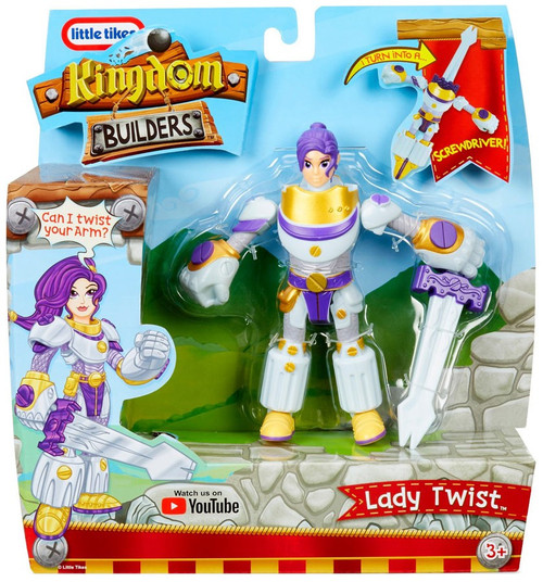 Little Tikes Kingdom Builders Lady Twist Action Figure