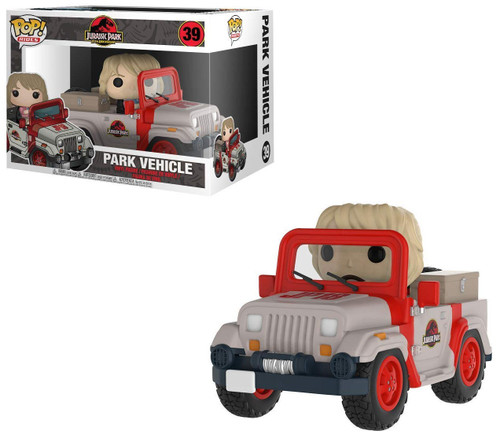 Funko Jurassic Park POP! Rides Park Vehicle Vinyl Figure #39 [Jeep with Ellie Sattler]